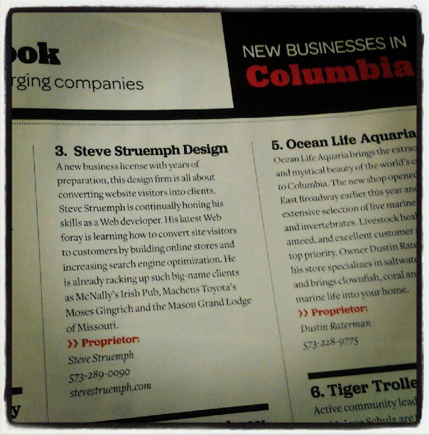 Press: Columbia Business Times